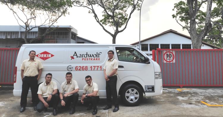 Pest Control Services Singapore | Aardwolf Pestkare